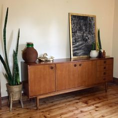 GENUINE PARKER VINTAGE TEAK SIDEBOARD - $1150 AUS Made by Parker Furniture in the 1960s, this solid teak sideboard is a classic example of Mid-century Scandinavian inspired Australian furniture design.
