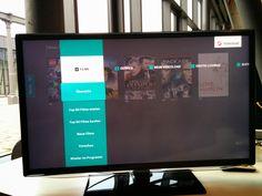 Videoload Samsung TV - Menu