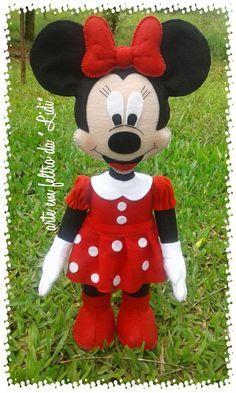 Bonecos Mickey e Minie