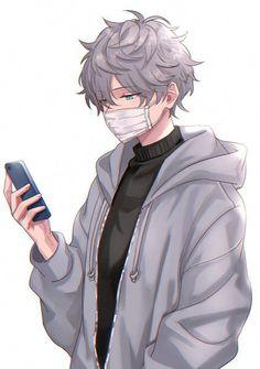 Hot Anime Boy, Dark Anime Guys, Cool Anime Guys, Handsome Anime Guys, Cute Anime Pics, Anime Boys, Anime Cat Boy, Anime Boy Hair, Neko Boy