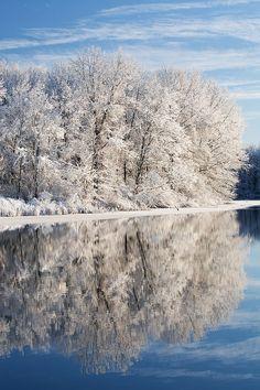 Jackson Hole Lake, Fort Custer State Park, Michigan; photo by Dean Pennala