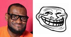 Careta de jogador de basquete vira meme na Internet