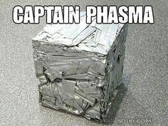 Star Wars humor, Captain Phasma, garbage compactor