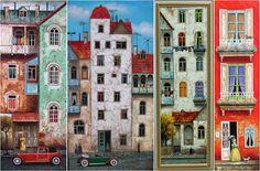 Картины Давида Мартиашвили.