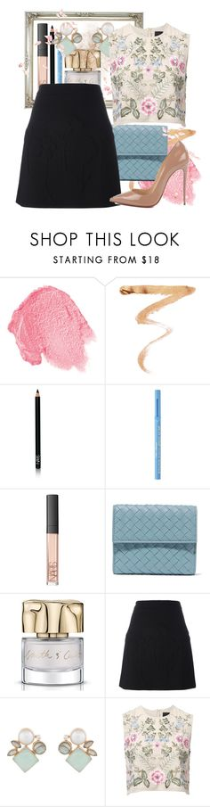 """A Few To Choose"" by shellcp ❤ liked on Polyvore featuring NARS Cosmetics, Ellis Faas, Too Faced Cosmetics, Bottega Veneta, Smith & Cult, Victoria Beckham, Atelier Mon, Needle & Thread and Christian Louboutin"
