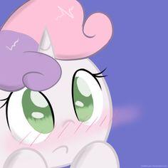 Blushing Sweetie by DeathNyan on DeviantArt