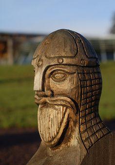 Borrehaugene, Vestfold, Norway (Borre mound cemetery) - P_14.01.2013 - Woody Viking by kristians, via Flickr