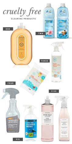 6 of the BEST Cruelty Free Cleaning Products that actually WORK! | Pretty Fluffy #productivity Productivity Tip #productive