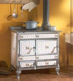 Antique Wood Cook Stoves, Early Victorian Kitchen stoves