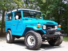 Nice FJ Toyota Fj40, Toyota Fj Cruiser, Toyota Trucks, Carros Toyota, Cool Jeeps, Pavement, Attic, Offroad, Trailers