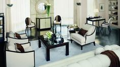 Gatsby Inspired Interior Design S Art Deco Living Room Style ...