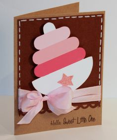 Scrappy Mel: Cute card idea...can use original stacking rings colors.