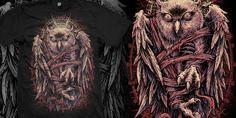 """Agony"" t-shirt design by olinokus"