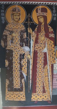 St. Helen & St. Constantine by Damir Mladenovic