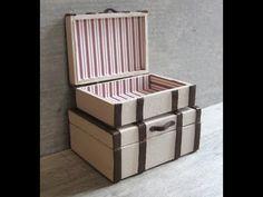 tutorial: pair of miniature suitcases