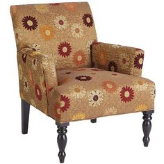 Liliana Armchair - Daisy Gold  - Pier One.  I love these funky chairs from Pier1... always have.