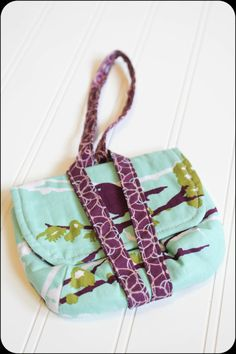 Bird Watch Wristlet by Theknicksofknacks on Etsy can take the place of a purse for tweens