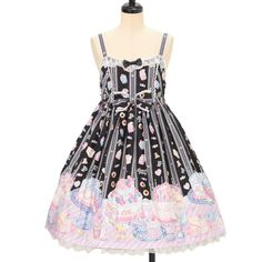 ♡ Angelic pretty ♡ Whip Factory jumper skirt http://www.wunderwelt.jp/products/detail10192.html ☆ ·.. · ° ☆ How to order ☆ ·.. · ° ☆ http://www.wunderwelt.jp/user_data/shoppingguide-eng