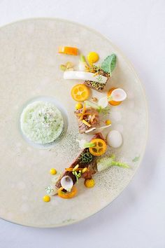 Chef Steven Greene of Herons, Food as Art