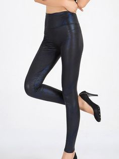 Fashion Pure Color Skinny Slim Women Casual Pants on buytrends.com
