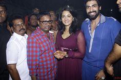 Rana Daggubati and Anushka @ Rudrama Devi Movie Launch