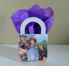 10 Sofia the First Favor Boxes Centerpieces by CutePartySupplies