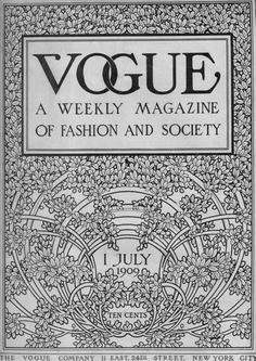 Vogue, 1909