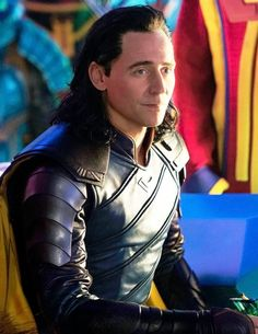Loki in Thor: Ragnarok I CAAAAN'T JUST LOOK AT DAT ARMOR AND HIS FLAWLESS HAIR AND HIS GORGEOUS FACE SERIOUSLY HOW THE HECK A GOD CAN BE THIS BEAUTIFUL???