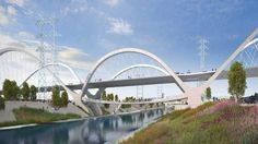 Los Angeles Picks Swoopy Bridge Design to Become Sixth Street Icon