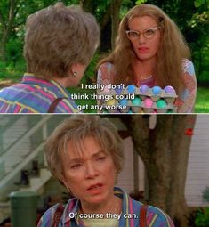 """When Ouiser brought Annelle back down to reality: 23 """"Steel Magnolias"""" Quotes That Will Make You Emotional 80s Movie Quotes, Tv Quotes, Funny Quotes, Movie Tv, Old Movies, Great Movies, Steel Magnolias Quotes, Magnolia Movie, Friend Quotes Distance"""
