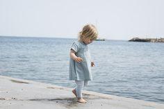 Beach strolling in Serendipity Organics summer Collection 2020.
