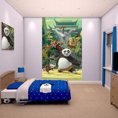 Walltastic Kung Fu Panda Poster Mural - http://godecorating.co.uk/walltastic-kung-fu-panda-poster-mural/