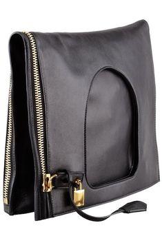 TOM FORD 2014 / Alix Padlock Bag LBV  Diese und weitere Taschen auf www.designertaschen-shops.de entdecken