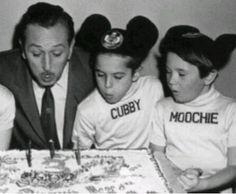 Walt with Cubby & Moochie