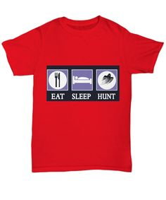 Eat Sleep Ghost Hunt Tshirt