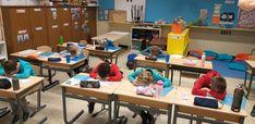 Het BOM-spel, alles kan en alles mag! – Juf Laura Classroom Games, Primary School, Spelling, Desk, Ikea Hackers, Monsters, Everything, Desktop, Office Desk