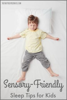 sensory friendly sleep tips
