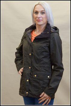 c6284aec66df7 Barbour Aeonium Ladies wax jacket in Classic Olive LWX0708OL71. Barbour  Aeonium Ladies wax jacket in Classic Olive LWX0708OL71 from Smyths Country  Sports