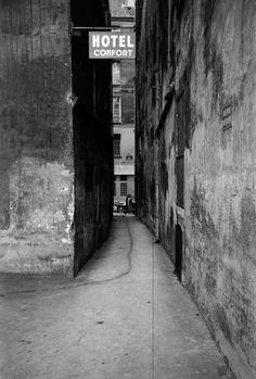 "thephotoregistry:  "" Paris, 1950  Christer Strömholm  """