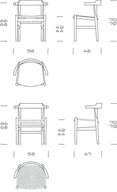 PP MØBLER / COLLECTION / CHAIRS / PP58/PP68