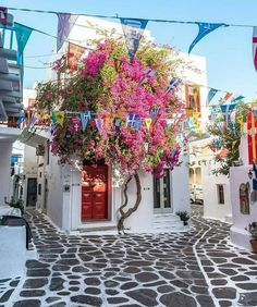 Mykonos In Greece.Search for your perfect vacation. Places Around The World, Oh The Places You'll Go, Places To Travel, Travel Destinations, Around The Worlds, Dream Vacations, Vacation Spots, Vacation Travel, Beautiful World