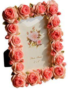 Gift Garden Rose Picture Frames for Best Friend Gift - Wedding Table Decor Polyresin Frame 4x6 inch, Pink Gift Garden http://www.amazon.com/dp/B00ZOQM080/ref=cm_sw_r_pi_dp_rmmdwb1J5F7RS