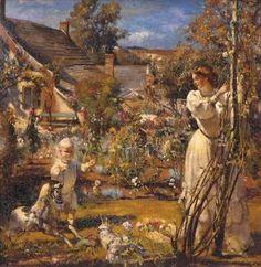 Summer, Henry Tonks (1862 – 1937, English) I AM CHILD-children in art history blog