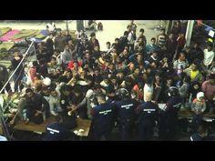 Flüchtlingslager Röszke 09092015-2 - YouTube