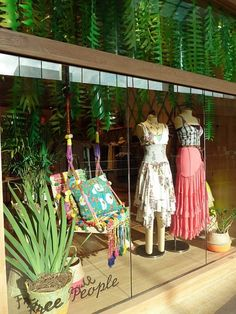Free People window display-love it!