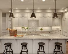 Cabinet Lighting Kitchen Design, Pictures, Remodel, Decor and Ideas - page 12  love the lighting