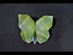 how to fold a butterfly out of a square a rectangle - Yahoo Video Search Results