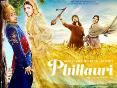 'Phillauri' new poster: Anushka Sharma and Diljit Dosanjh have an intense chemistry