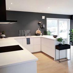 Inspiratio Modern Interior, Interior Inspiration, Corner Desk, Kitchen, Furniture, Home Decor, House, Cooking, Homemade Home Decor