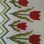 Kate's Crochet World Cross Stitch Cushion, Cross Stitch Bird, Cross Stitch Borders, Simple Cross Stitch, Cross Stitch Flowers, Cross Stitch Designs, Cross Stitching, Cross Stitch Embroidery, Hand Embroidery